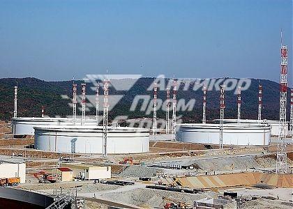 Каспийский трубопроводный консорциум. АКЗ / Трубопроводы,  Резервуары 100 000 куб.м –3 шт.